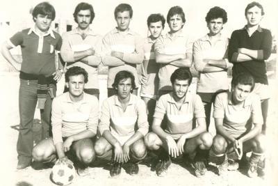 Una Formazione della squadra del DLF di Sibari del 1976