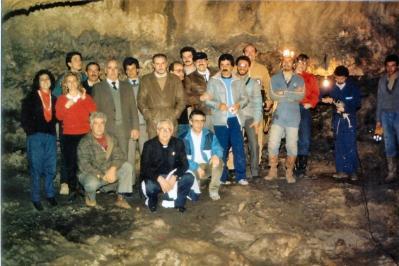 1985 grotte S.Angelo, prima visita