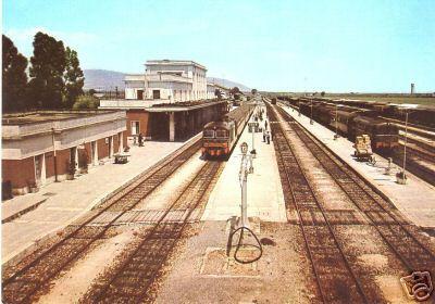 Sibari stazione anni 70