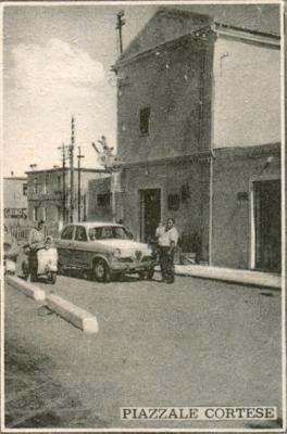 Piazzale Cortese 1955