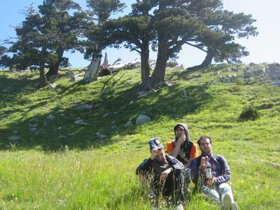 4 amici in Trekking sul Pollino