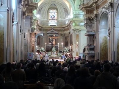 Ingresso di Mons. Galantino a Cassano 10 Marzo 2012