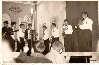 Sperimental Jazz Band 1962