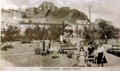La Villa Comunale negli anni '30/'40