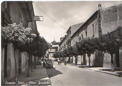 Cassano Ionio - Corso Garibaldi, 1955 ca.