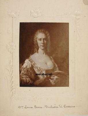 Donna Laura Serra Duchessa di Cassano