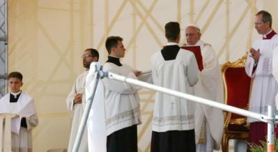Visita del Papa a Sibari