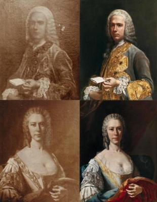 Duchi Laura e Giuseppe Serra-Cassano