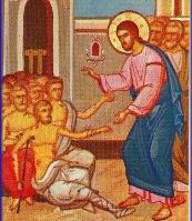 Gesù coi lebbrosi