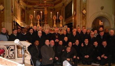 Vescovo e presbiteri